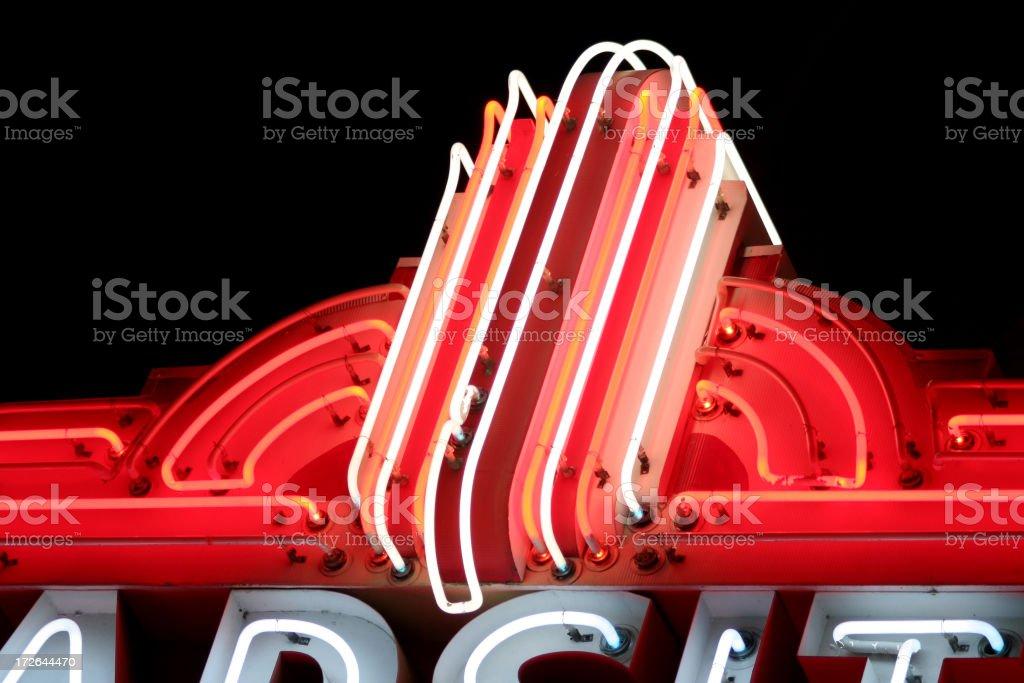 neon royalty-free stock photo