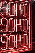 Neon Soho Sign