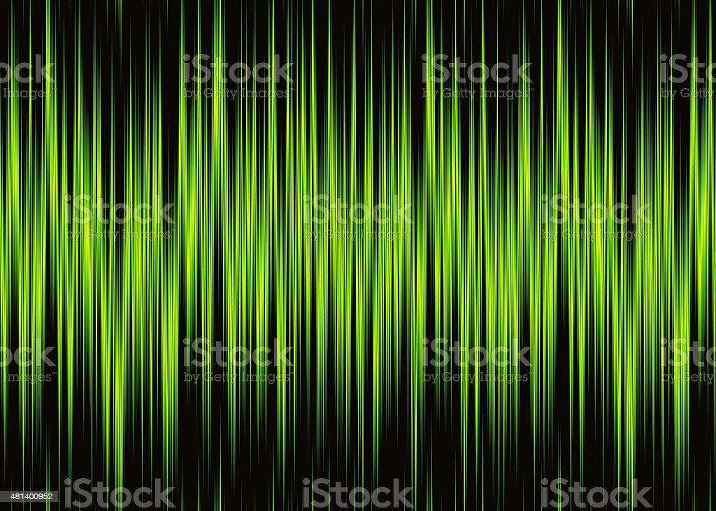 neon waveform pattern with copy space vector art illustration