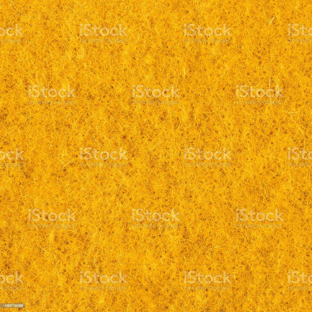 Neon yellow fleece textile fabric texture background stock photo