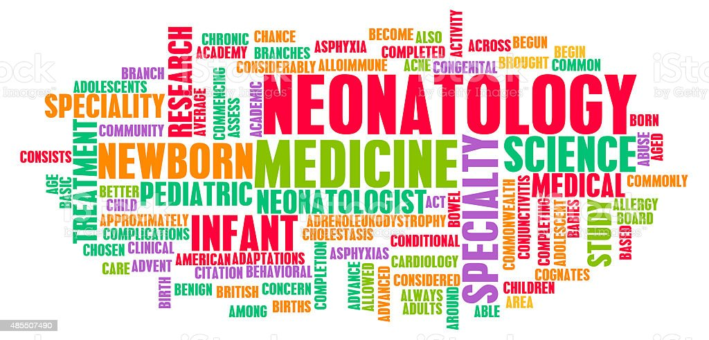 Neonatology stock photo