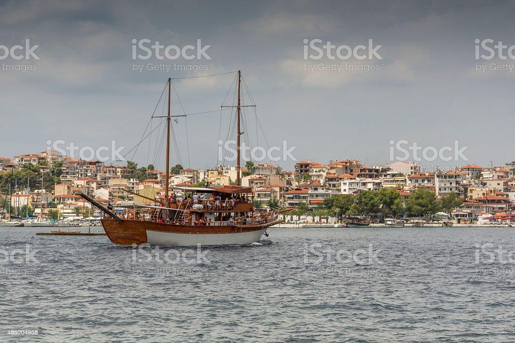 Neos Marmaras , Chalkidiki, Sithonia, Central Macedonia stock photo