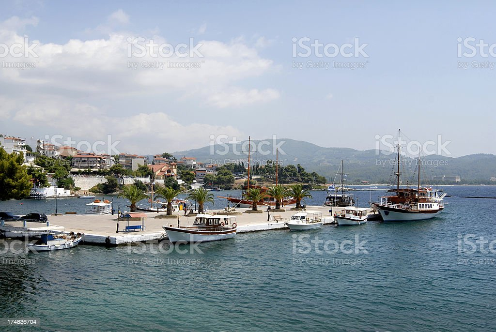 Neos Marmaras, Greece stock photo