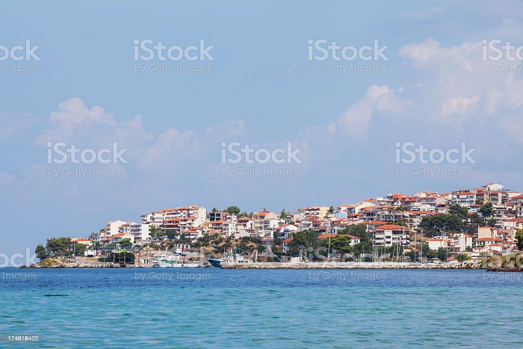 Neos Marmaras royalty-free stock photo