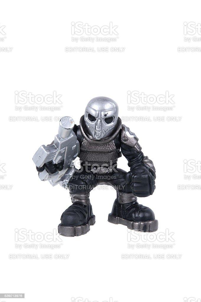 Neo-Viper GI Joe Combat Heroes Action Figure stock photo