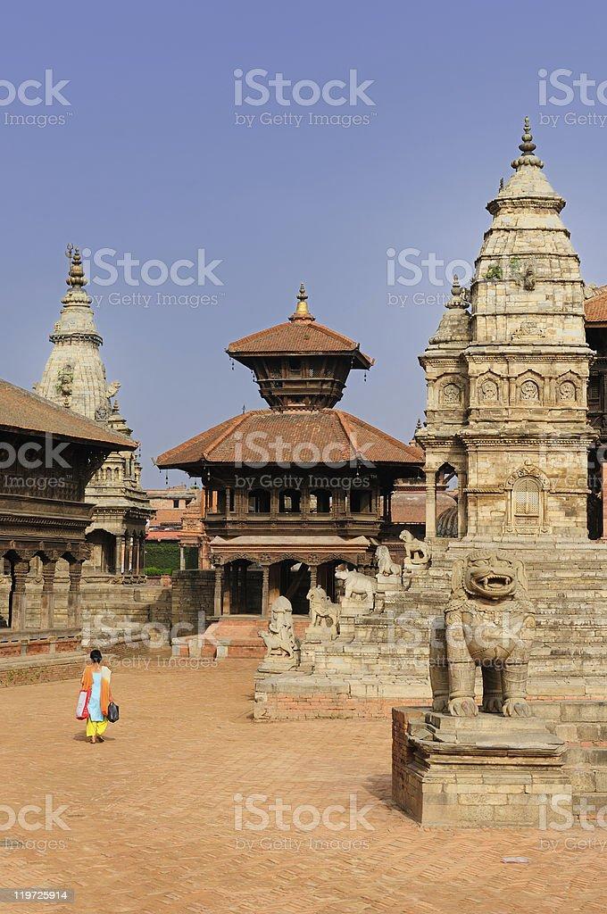 Nepal - Bhaktapur royalty-free stock photo