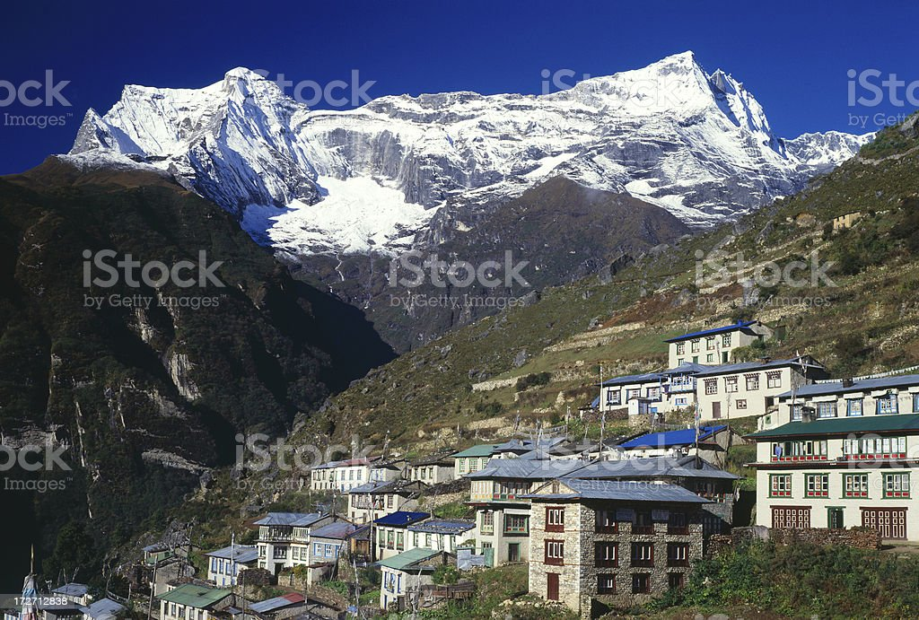 Nepal. Himalaya royalty-free stock photo