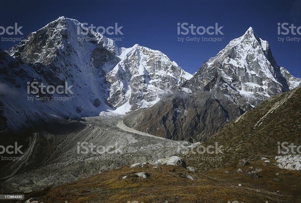 Nepal, Himalaya stock photo