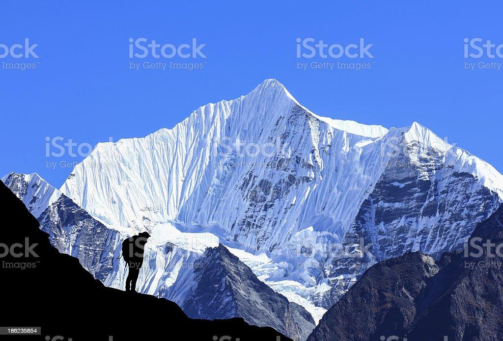 Nepal Himalaya royalty-free stock photo