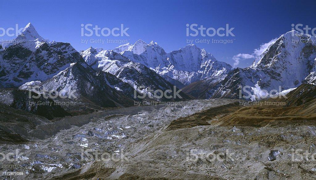 Nepal, Himalayas royalty-free stock photo