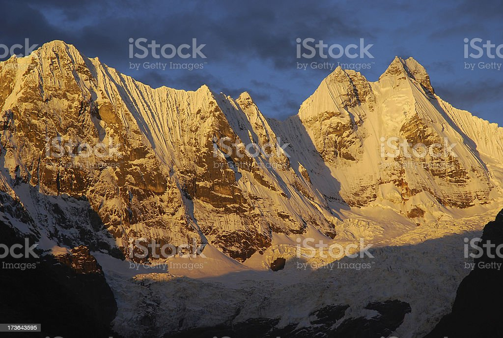 Nepal Himalayas stock photo