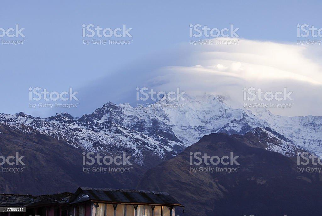 Nepal Himalayas royalty-free stock photo