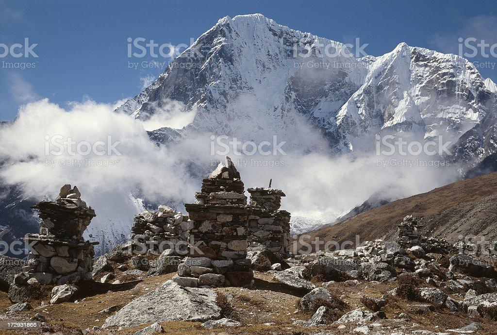 Nepal. Khumbu Himal. royalty-free stock photo