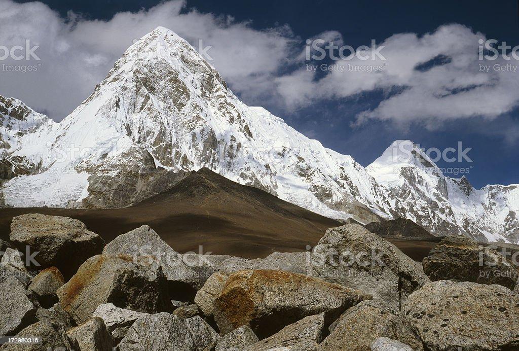 Nepal. Khumbu Himal. stock photo