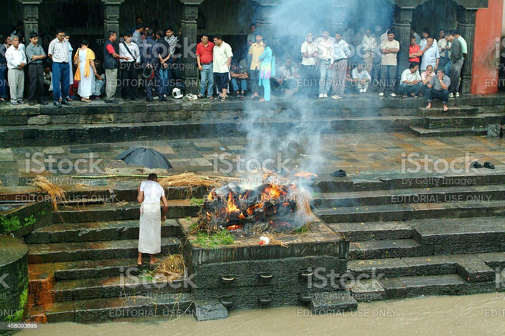 Nepal, Pashupatinath stock photo