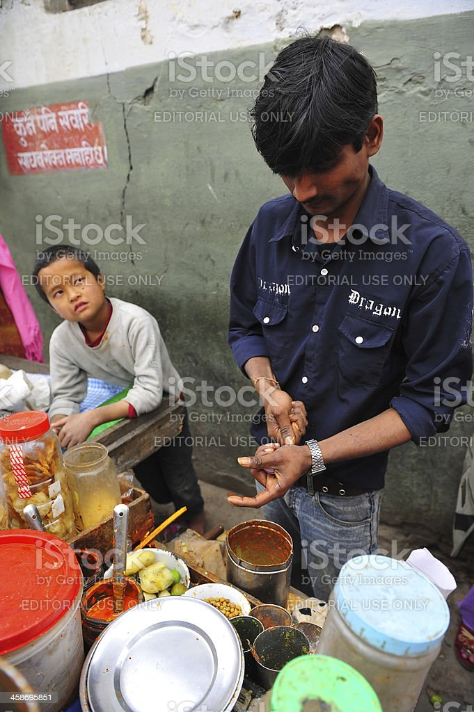 Nepalese food royalty-free stock photo