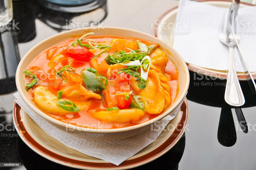Nepali spicy vegetables royalty-free stock photo