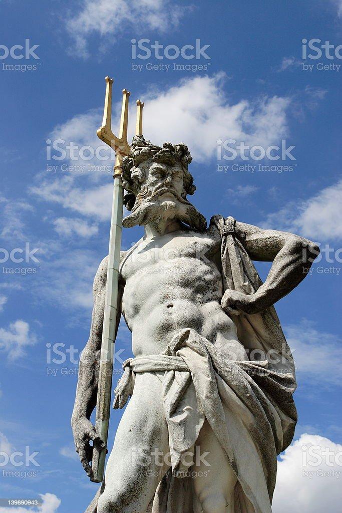 Neptun royalty-free stock photo