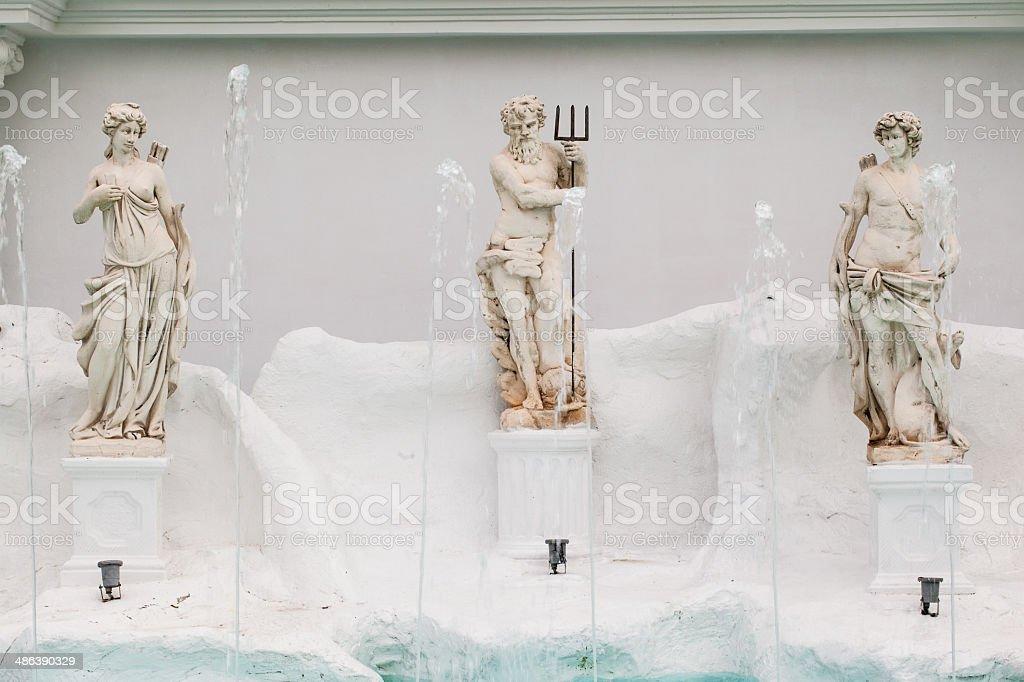 Neptune royalty-free stock photo