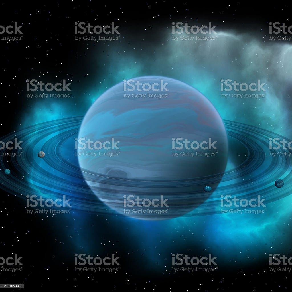 Neptune Planet stock photo