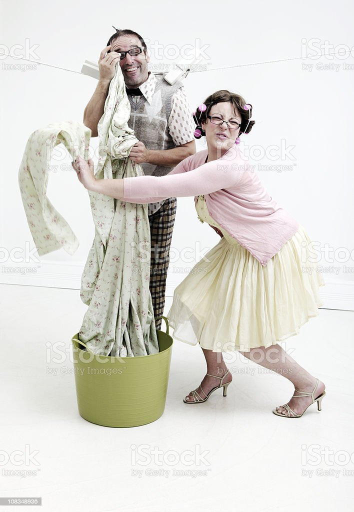 Nerd Laundry royalty-free stock photo