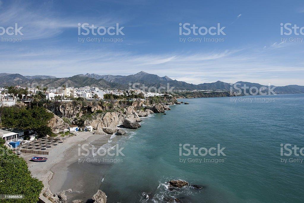 Nerja, Costa del Sol stock photo