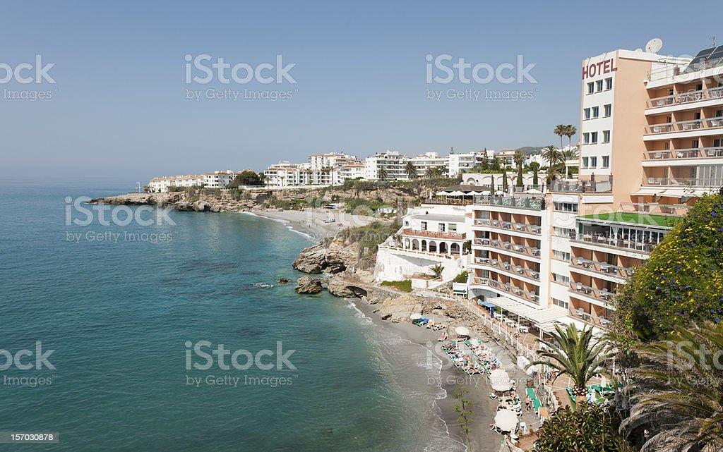Nerja, Costa del sol, Spain stock photo