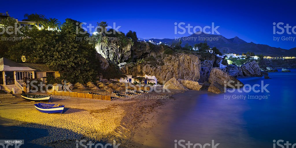 Nerja, Malaga, Spain royalty-free stock photo