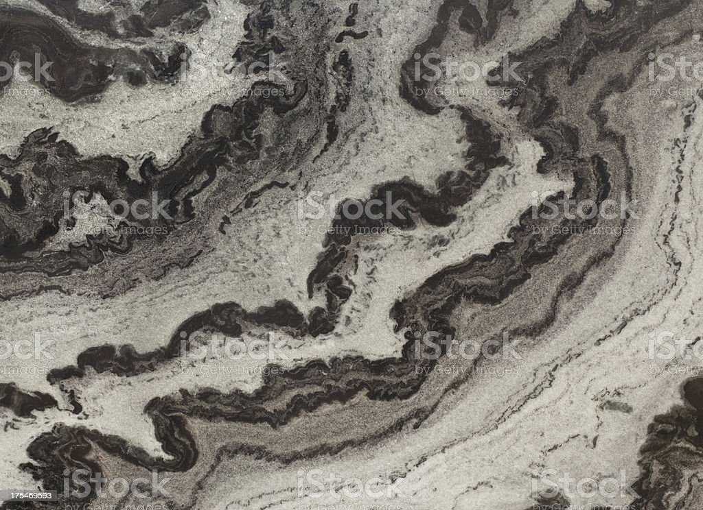 Nero Mistral Wave Marble stock photo