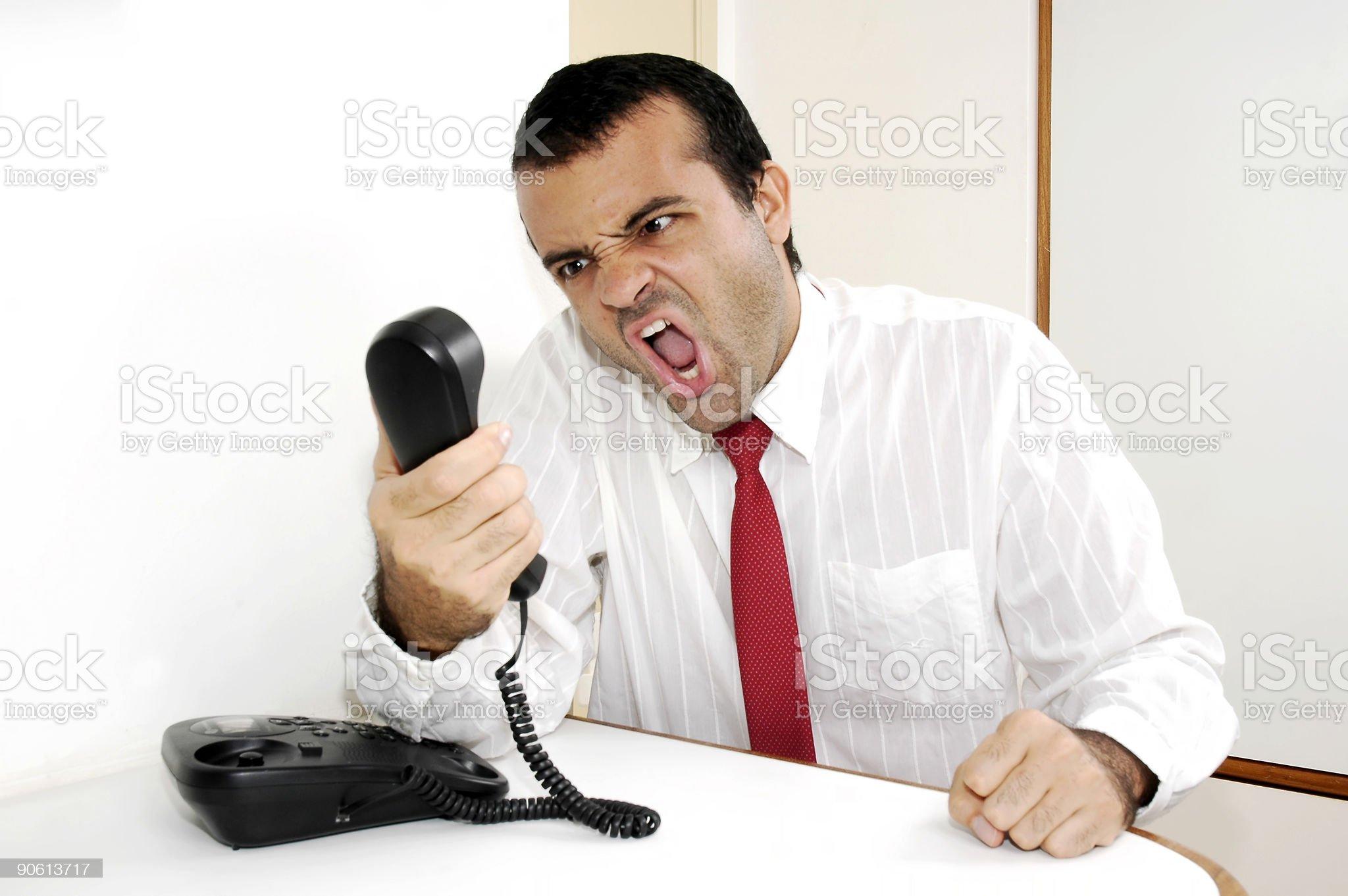 Nervous Communication royalty-free stock photo