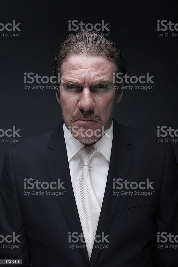 Nervous Man royalty-free stock photo