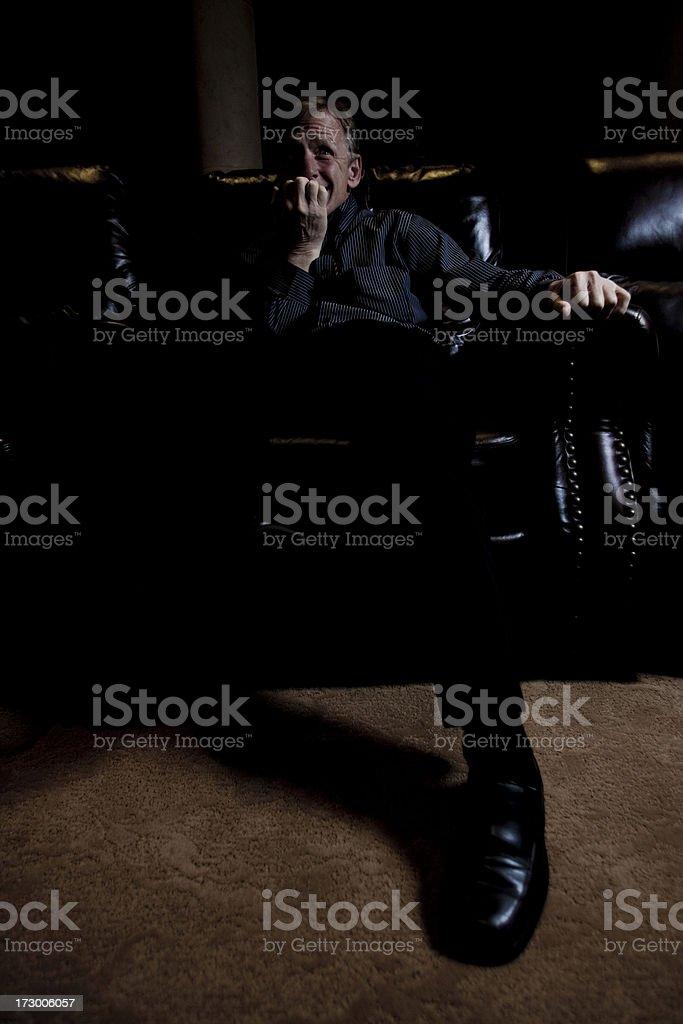 nervous stock photo