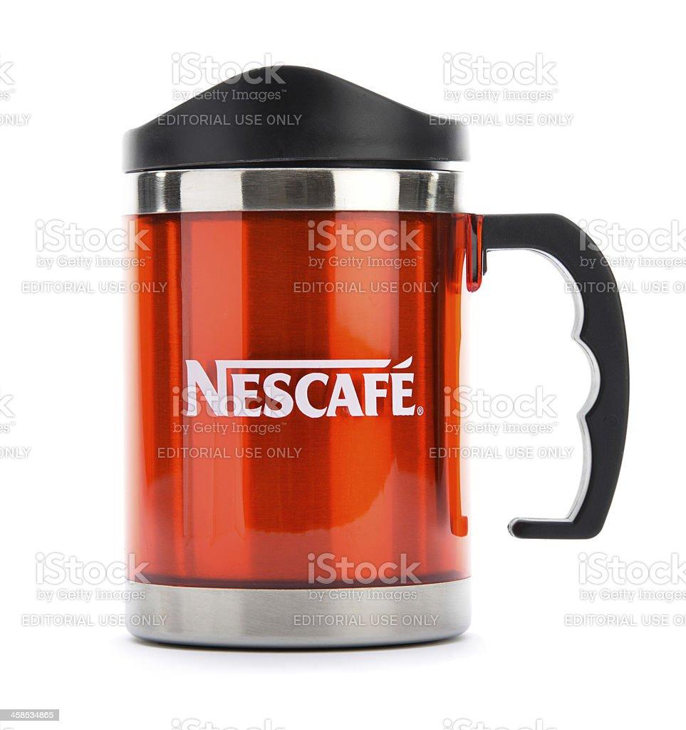 Nescafe Mug royalty-free stock photo