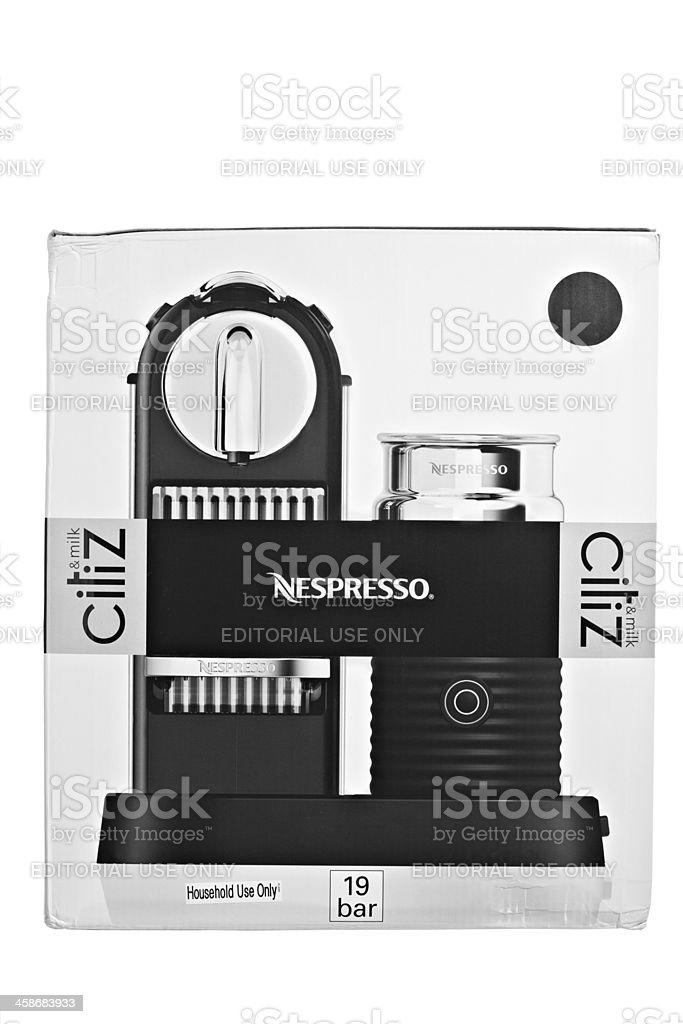 Nespresso Citiz Box stock photo