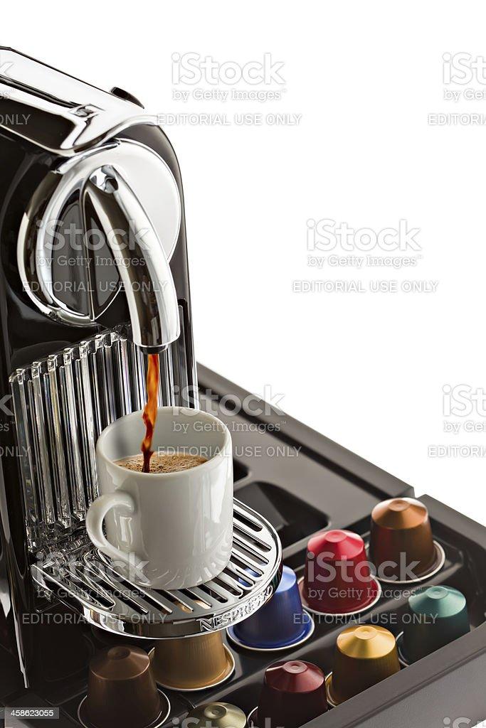 Nespresso Citiz stock photo