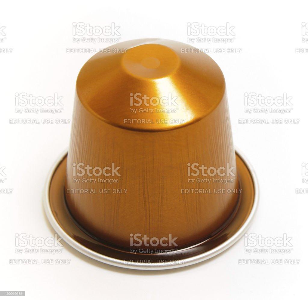 Nespresso Coffee capsule stock photo