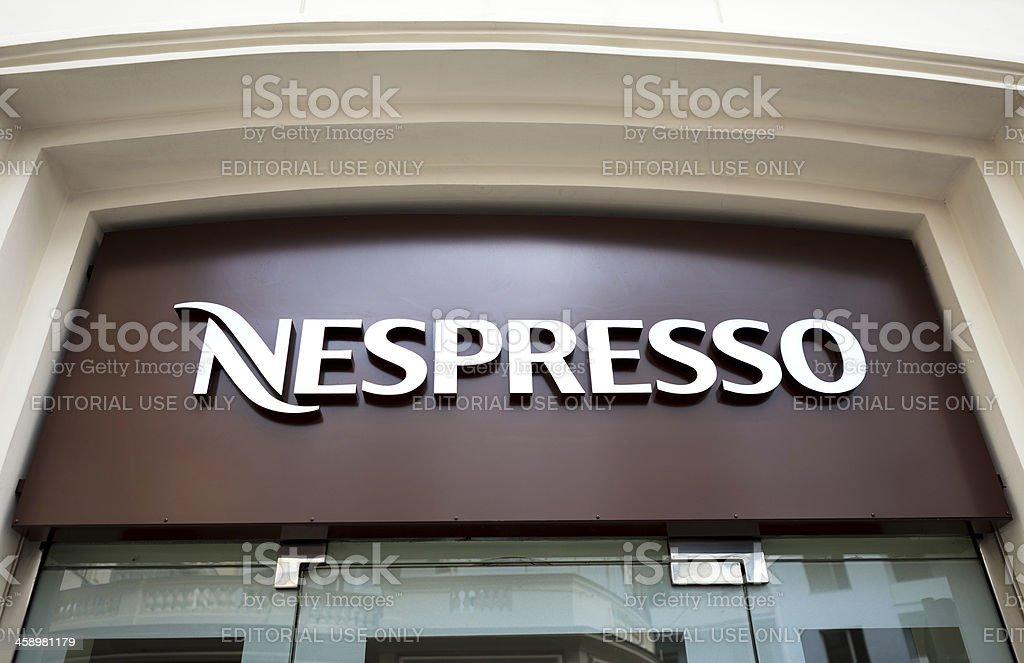 Nespresso stock photo