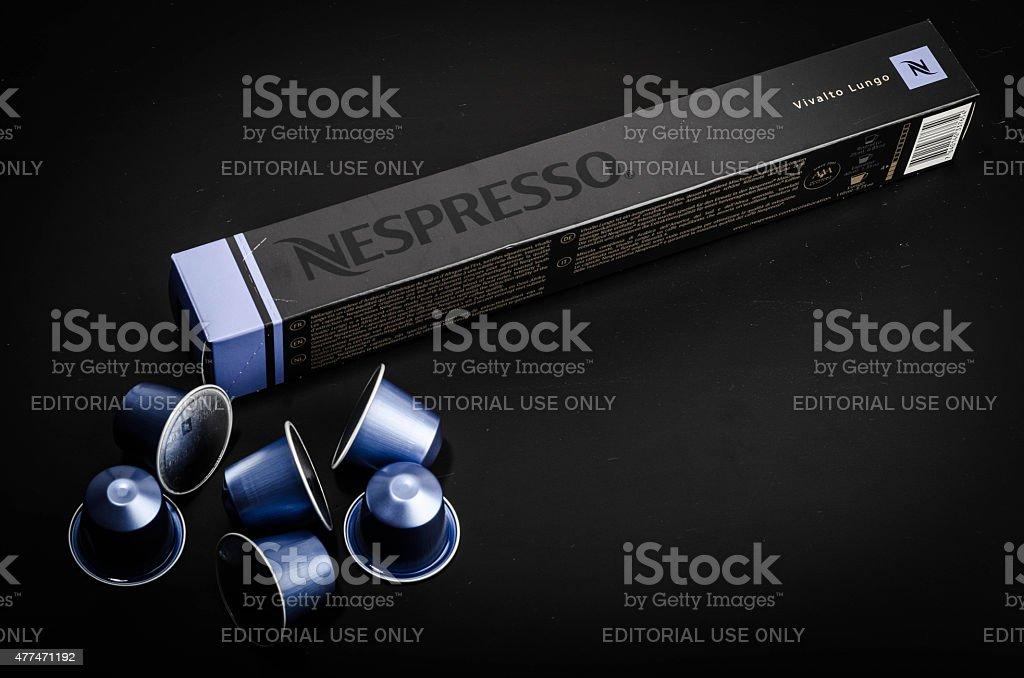 Nespresso Vivalto Lungo stock photo