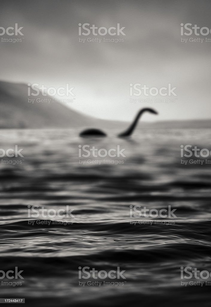 Nessie, Is That You? stock photo