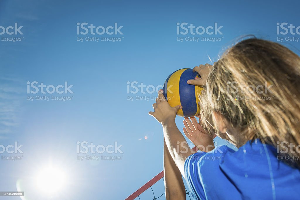 Net action royalty-free stock photo