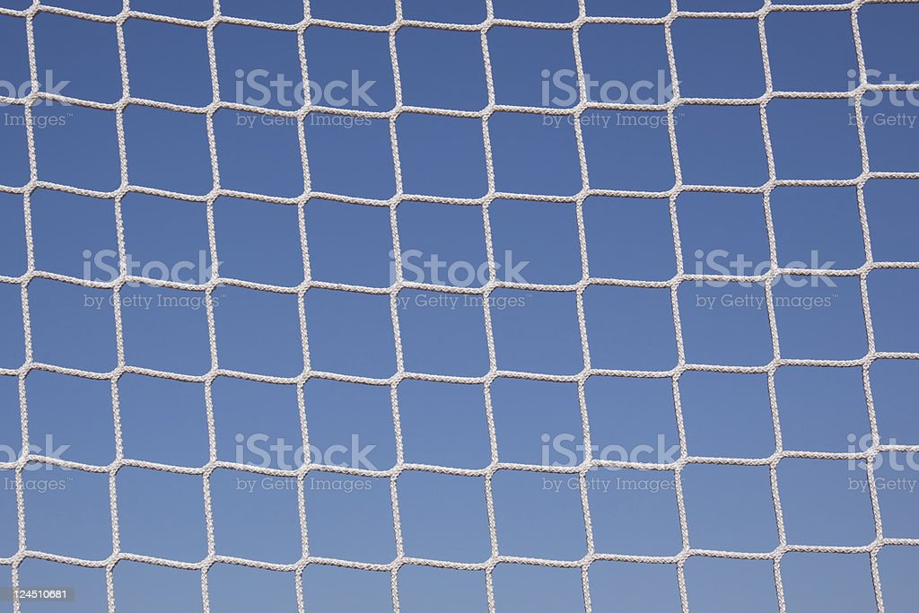 Net of a goal royalty-free stock photo