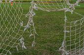Net of soccer
