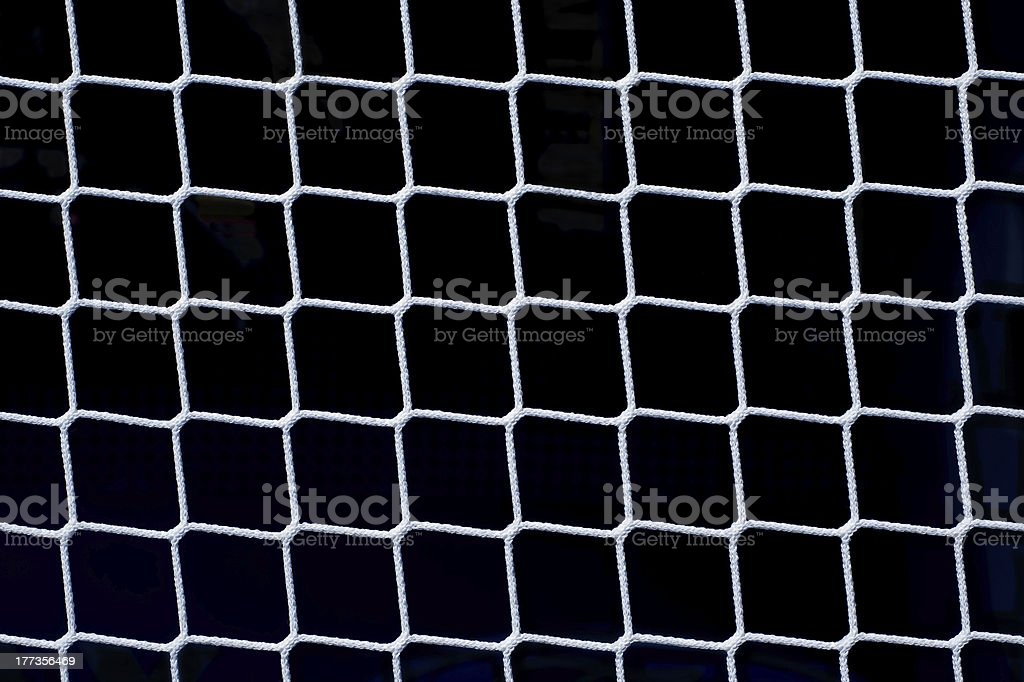 Net on Black stock photo