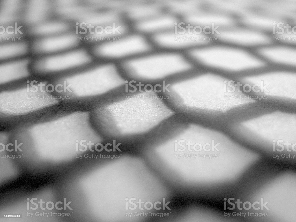 Net Shadow royalty-free stock photo