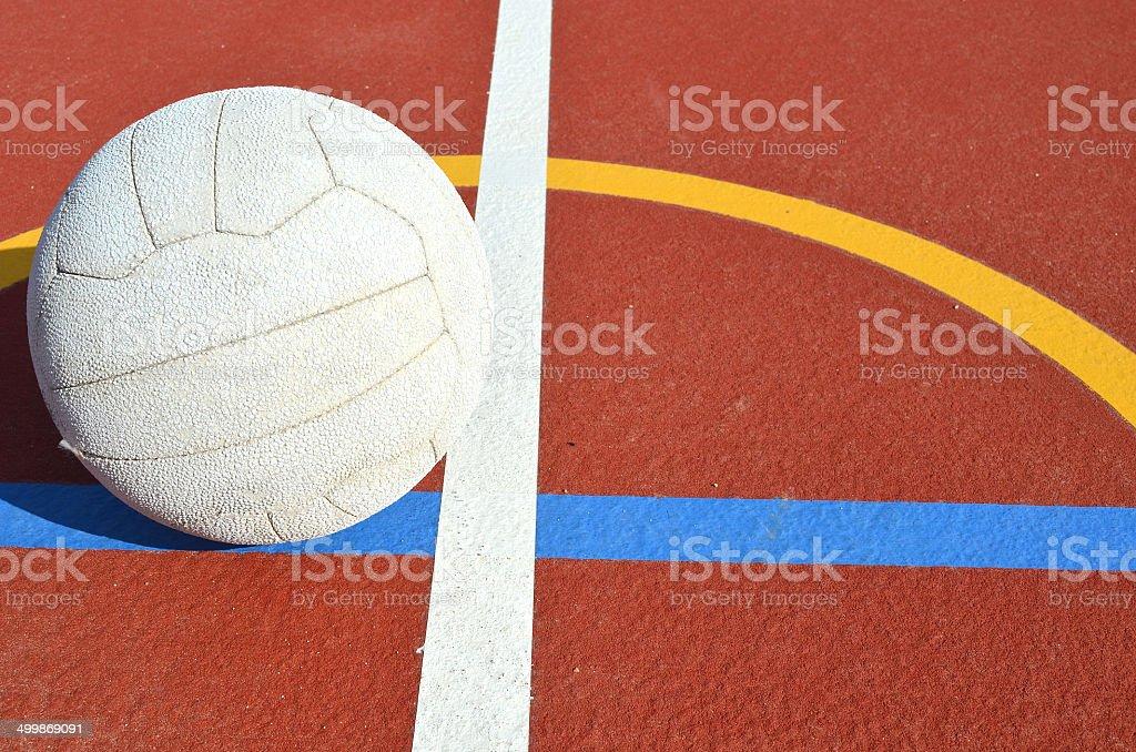 Netball Game stock photo
