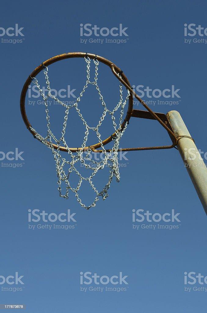 Netball Ring royalty-free stock photo