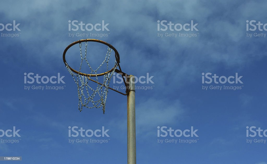 Netball Ring royalty-free stock photo