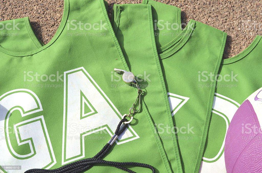 Netball Uniform stock photo