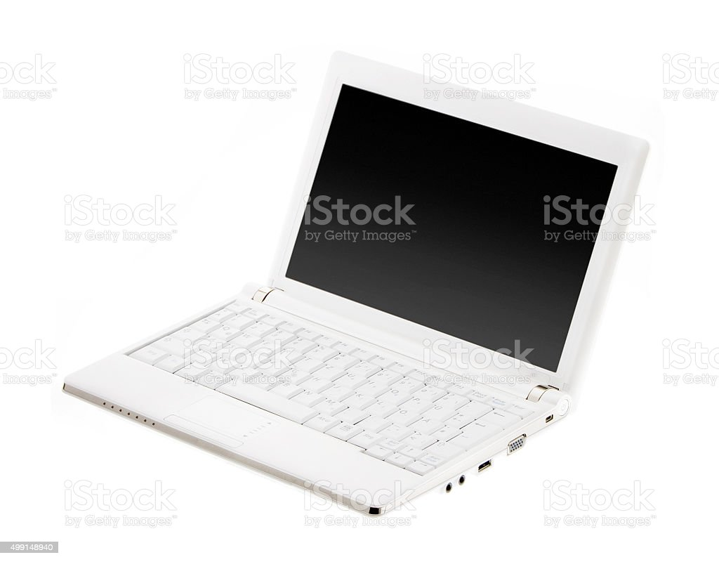 Netbook / laptop / notebook computer stock photo