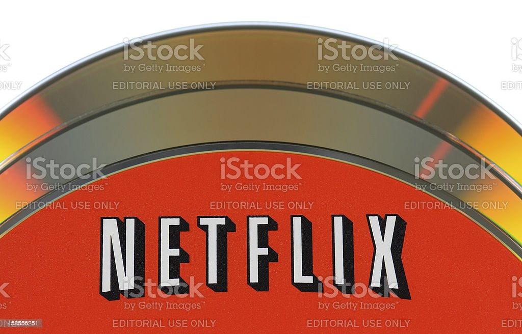 Netflix Disc royalty-free stock photo